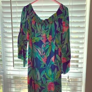 Lilly Pulitzer off the shoulder dress - size XL.